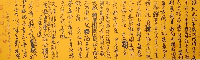从古至今,汉字书法在中国精神文化的保存,传播和发扬光大过程中的独特